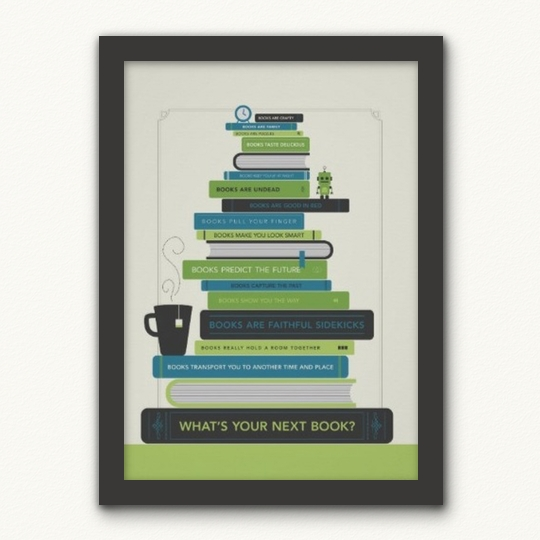What's your next book ?