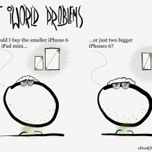 First iWorld problems #cartoon #iPhone #iPad