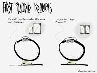 First iWorld problems #cartoon #iPhone #iPad