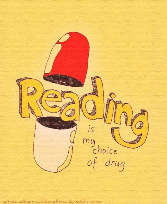 Airiz Casta - Reading is my choice of drugs