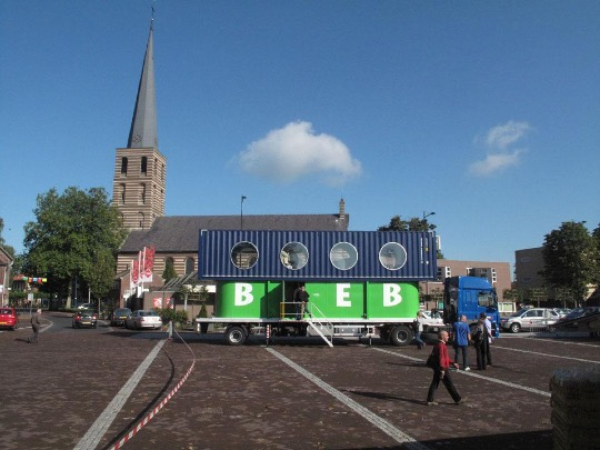 BiebBus - a bookmobile from the Netherlands