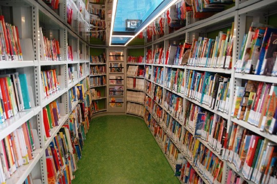 BiebBus mobile #library offers over 7,000 books