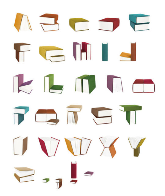 Book alphabet by Chan Hwee Chong