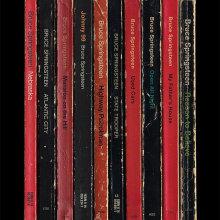 """Bruce Springsteen """"Nebraska"""" album as Penguin book covers"""