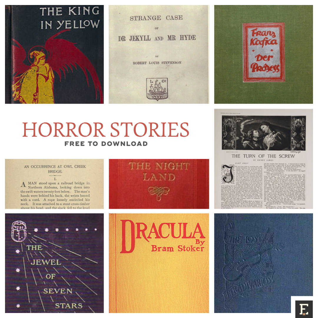35 classic horror stories, free to download