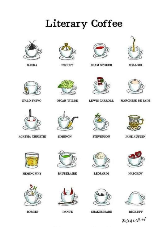 Literary coffee!