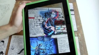 Modern Polaxis - augmented reality comic book