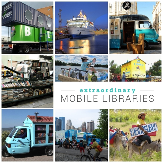 Most extraordinary mobile #libraries in the world