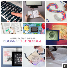14 projects that combine print books with technology