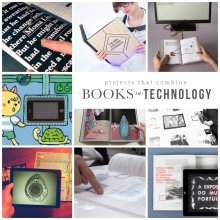 Projects that combine #books and #technology