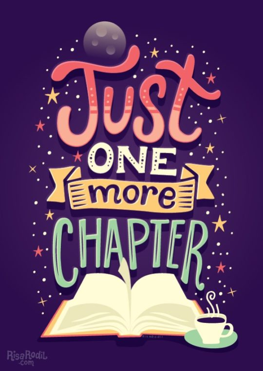 Risa Rodil - Just one more chapter