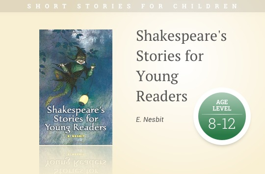 Short stories fo kids: Shakespeare's Stories for Young Readers