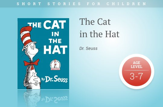 Short stories for kids - The Cat in the Hat