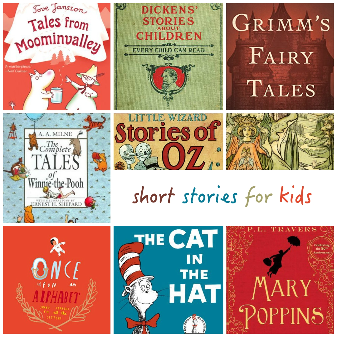 20 best short stories for kids - Kid Free Books