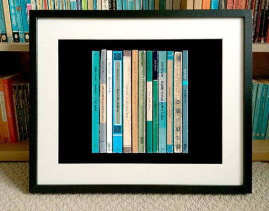 "Bob Dylan ""The Freewheelin'""  album as Penguin book covers - visualization"