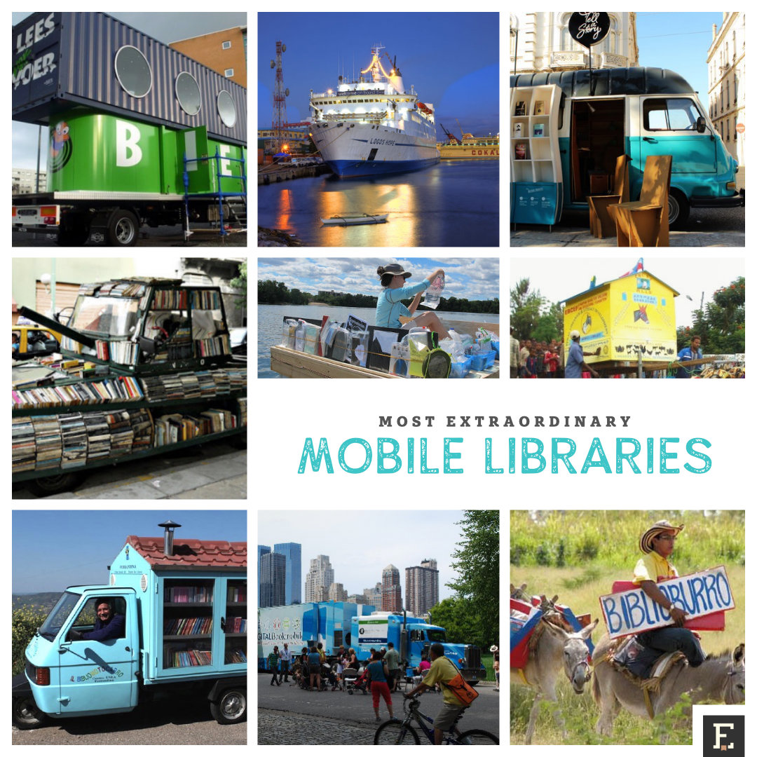 The most extraordinary mobile libraries from around the world