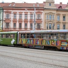 Tram LIbrary in Brno