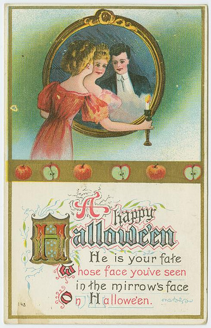 Vintage cards - A happy Halloween