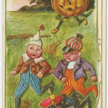 Vintage cards - Halloween