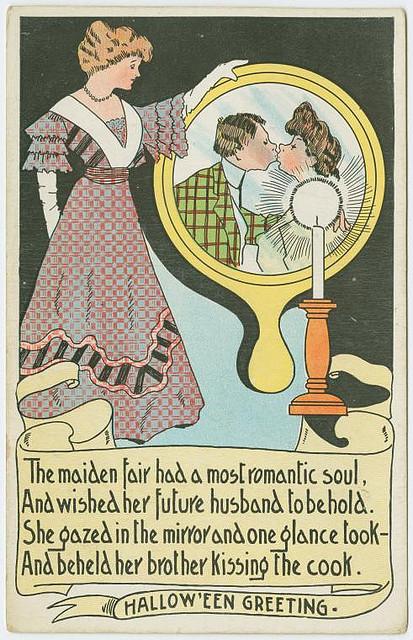 Vintage cards - Halloween greeting 3