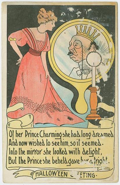 Vintage cards - Halloween greeting 4