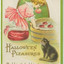 Vintage cards - Halloween's pleasures