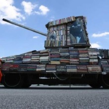 Weapons of Mass Instruction - a #book tank distributing free #books in Argentina