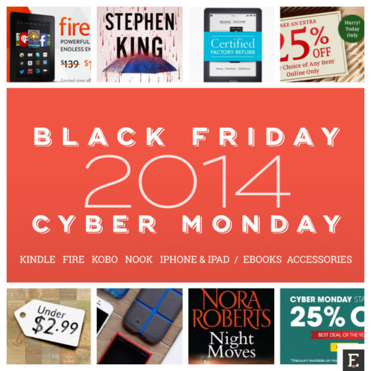 A complete guide to Black Friday 2014 and Cyber Monday 2014 deals on Kindle Fire iPad