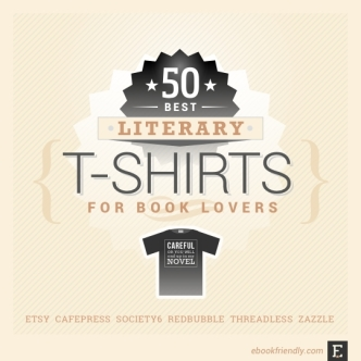 Best literary t-shirts for book lovers