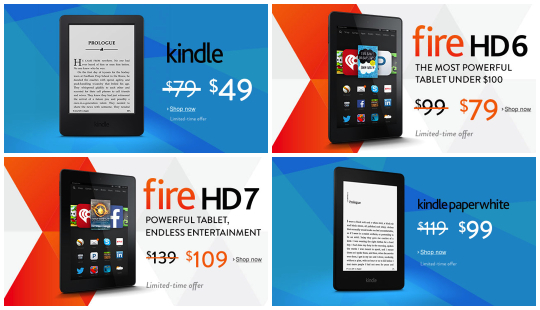 Black Friday 2014 - Amazon Fire and Kindle Deals