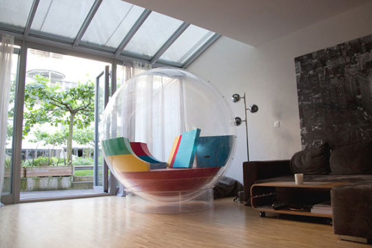 Cocoon forms a reading nook in every place you put it