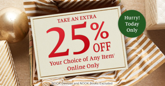 Cyber Monday 2014 on Barnes and Noble