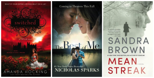 Cyber Monday Nook Deals - 50 percent off New York Times bestsellers