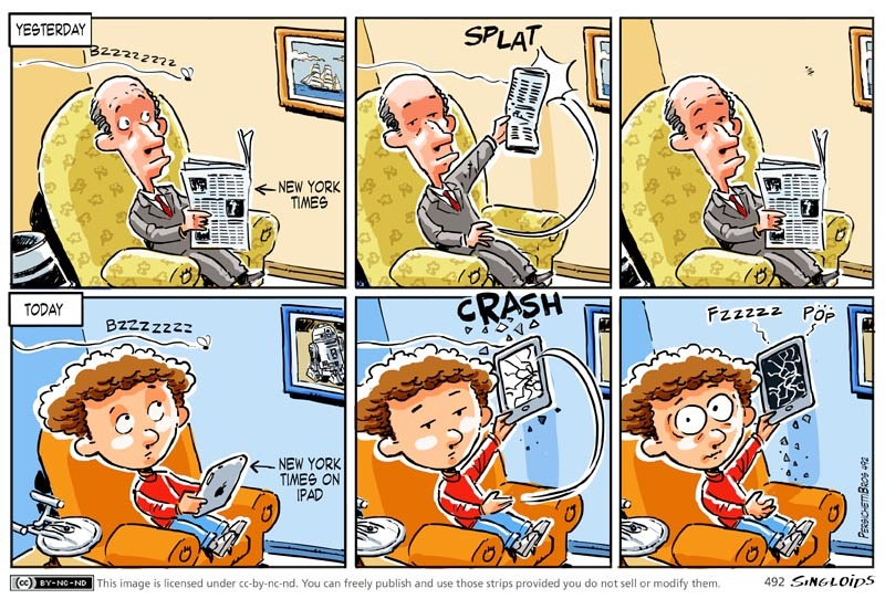 Don't use a tablet for this - #cartoon