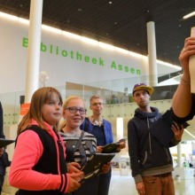 Dutch libraries use QR codes to encourage to read