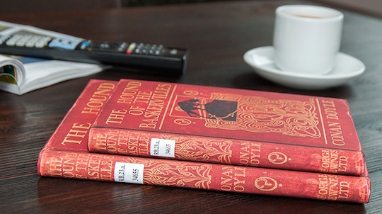 The British Library covers - The Hound of the Baskervilles