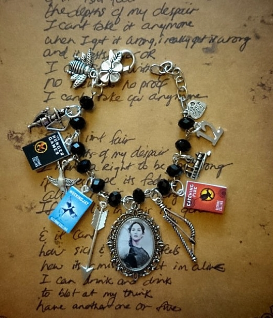 The Hunger Games Charm Bracelet