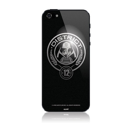 The Hunger Games District 12 iPhone Skin