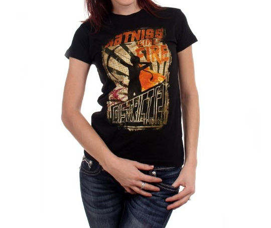 The Hunger Games Girl on Fire T-shirt