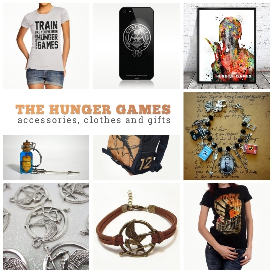 The Hunger Games accessories clothes and gifts