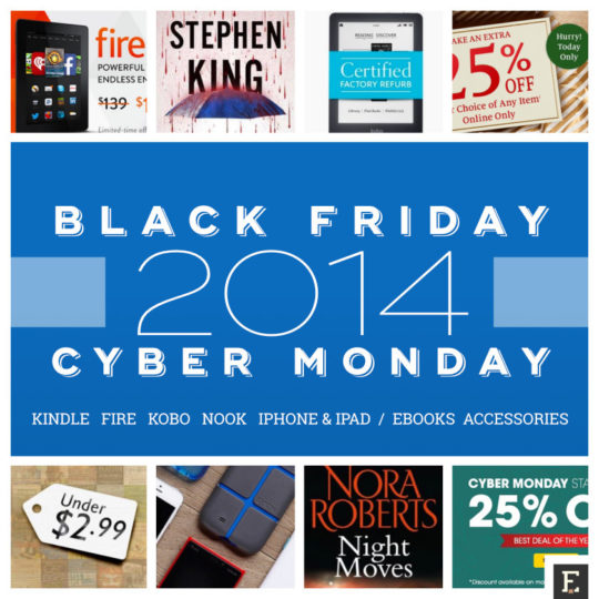 Best cyber monday ebook deals 2014 kindle kobo nook and more the best 2014 black friday and cyber monday ebook deals for kindle kobo nook fandeluxe Gallery