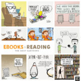35 funniest cartoons about ebooks and digital reading