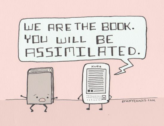 We are the book - cartoon