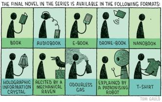 Available in the following book formats - cartoon