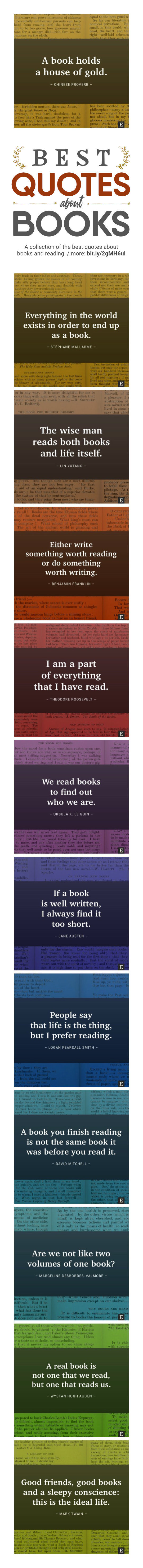 Book quotes in images 25 brilliant thoughts about books visualized best quotes about books visualized infographic fandeluxe Image collections
