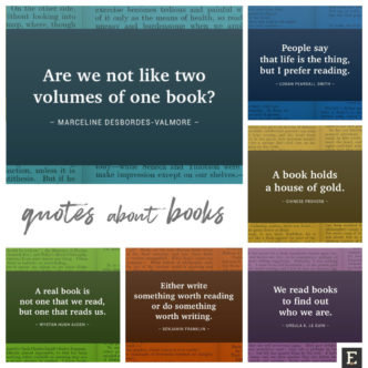 Brilliant quotes about books, visualized