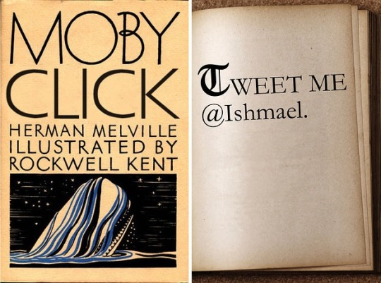 Famous first lines rewritten for today - Moby Dick