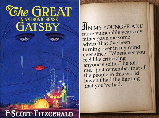 Famous first lines rewritten for today - The Great Gatsby