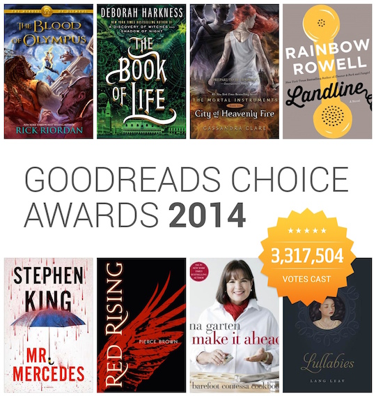 Goodreads Awards 2014 intro
