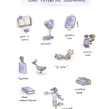 Creative ways to bookmark a page in a book #cartoon